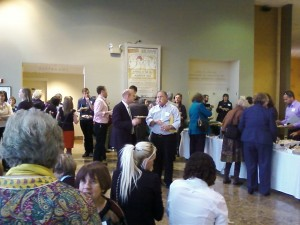 Networking at the Triangle Arts Summit